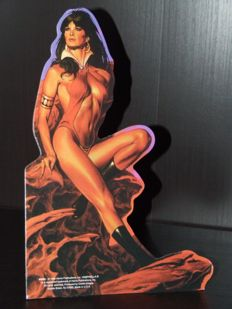 Vampirella Vintige Cardboard Display (1998 Harris)