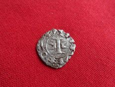 Spain - Manorialism of Montpelier, Melgores Billon coin (Catalonia, 12th-14th centuries)