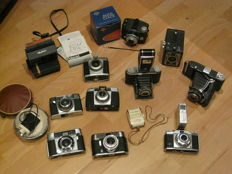 Lot of cameras AGFA Voigtländer Zeiss and a lot more!!!