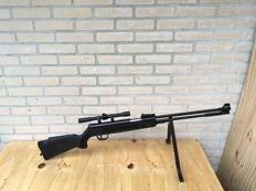 SNIPER Black - air rifle .22 + scope