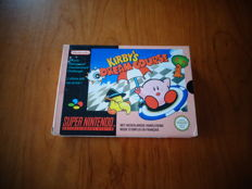 "Super Nintendo ""Kirby's Dream Course"" FAH Version and Fully complete with Nintendo seal"