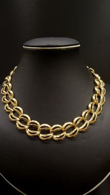 NAPIER - 18kt gold plated Necklace with Serial Number
