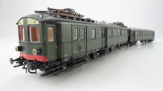 "Roco H0 - 43844/44983 - Electric 2-piece passenger train set ""Blokkendoos Mat'24"" of the NS"