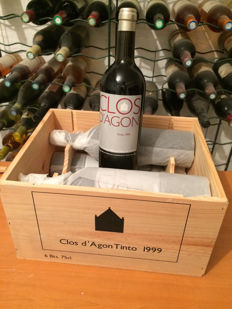 1999 Clos d'Agon Tinto, DO Catalunya - 6 bottles (75cl)