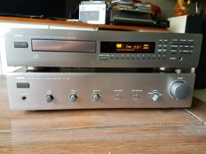 Yamaha Natural Sound AX 350 amplifier and CDX 470 CD player