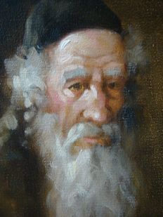 Unknown painter - Old Man
