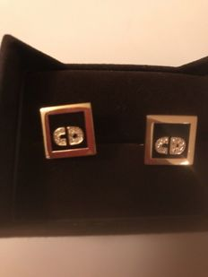 Christian Dior - Vintage signed cuff links Germany 1970