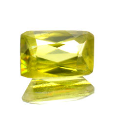 Sphene (Titanite) Green-Yellow - 1.25 ct - No reserve price
