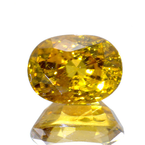Yellow zircon - 2.48 ct.