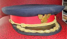 Large Cap Uniform and Uniform number. 1 Male personnel of the fire Command