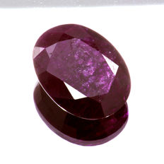 Ruby - 7.41 ct