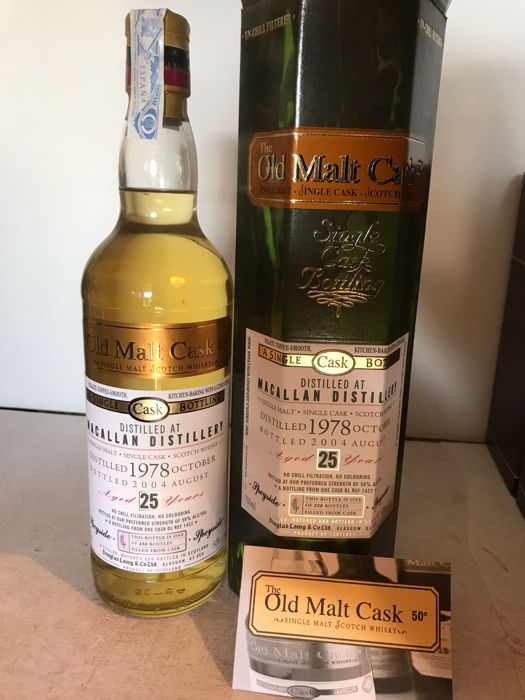 Macallan 1978 Single Malt Whisky 25 yers old - Douglas Laing