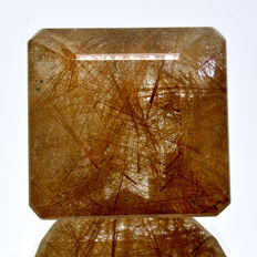 Rutilated golden quartz - 22.07 ct – No reserve price