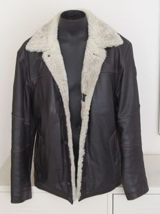 Pall Mall - Leather aviator jacket