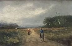 Unknown (19th/20th century)  - Landschap