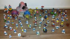 Collection of over 80 Smurfs
