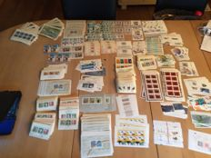 Federal Republic of Germany - stamps with approx. 1,100 blocks and small sheets
