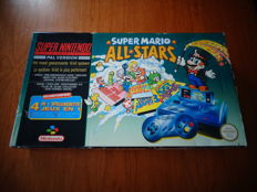 "Snes Console Pack ""Mario All Stars"" FAH version and Fully Complete"