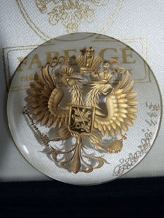 Fabergé - Imperial Fabergé - Eagle Imperial Romanov-numbered
