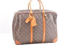 Louis Vuitton - Sirius 45 Monogram - Soft suitcase with handle holder, tag name and padlock 1/key