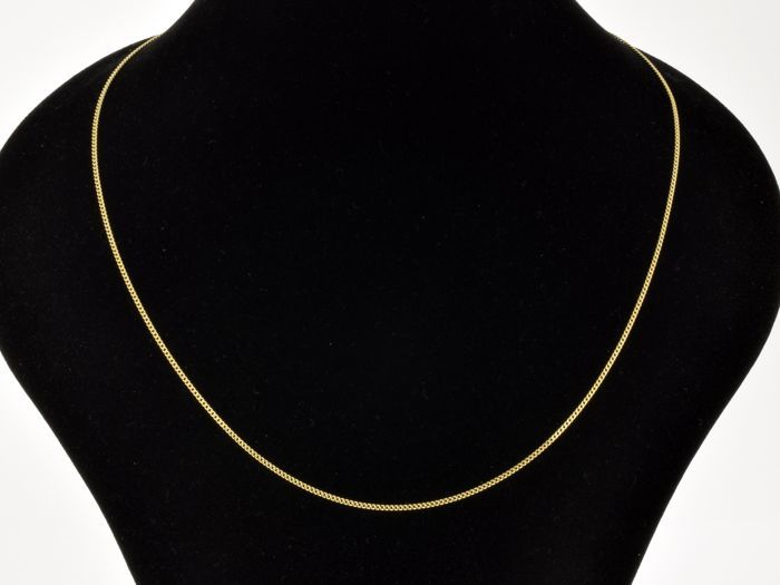 18k Gold Necklace. Chain. Length 50 cm