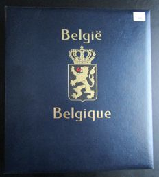 Belgium 1935/1949 - Collection in Davol LX album, including blocks and stamps from blocks.