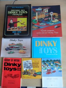Dinky Toys - Reference works: 7 books on DT including Histoire des Dinky Toys Francais
