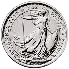 Great Britain - 2 Pounds 2017 'Privy 20th Anniversary Edition' - 1 oz silver