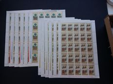 Bulgaria 1964/1991 - Batch of series in complete sheets