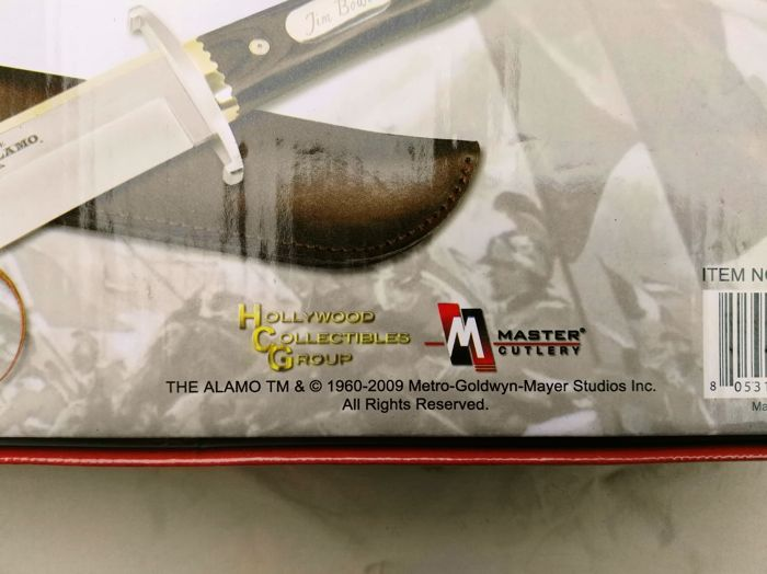 Jim Bowie Knife from The Alamo Film Licensed by MGM Studios