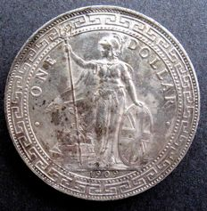 United Kingdom - Trade Dollar 1909 - silver