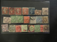 British Commonwealth - Collection in seven albums and on loose sheets.