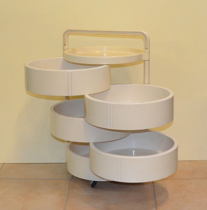 Franco Annoni for Kartell Storage container Model 4591 Catawiki
