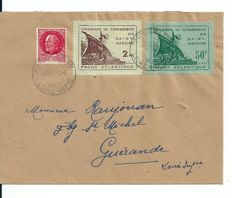 France 1940/45 - Lot of Stamps and Letters - Occupation and Liberation