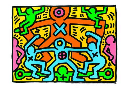 Keith Haring  - Untitled 1985