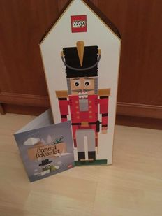 Exclusive - 4002017 - Technic Nutcracker met greeting card - (2017)