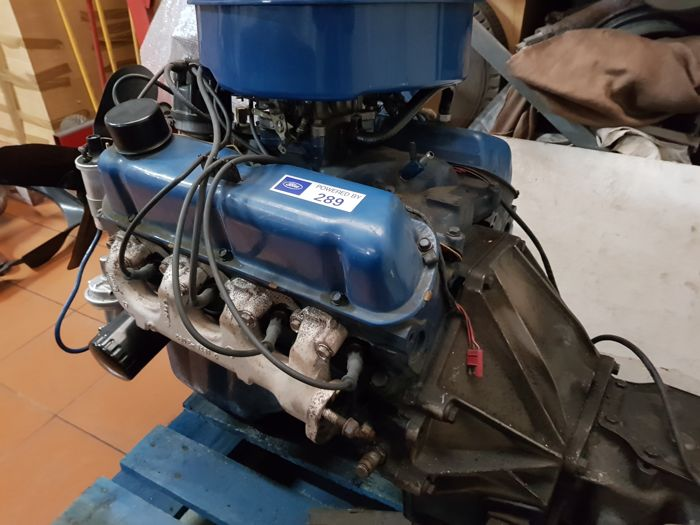 Ford 289 V8 engine - Engine and gearbox - Catawiki