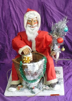 Electric automaton - Santa Clause - created by Zwahlen - 20th century