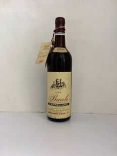 1969 Barolo Cappellano - 1 bottle