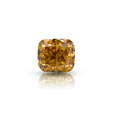 Natural Fancy Yellowish Brown 1.00ct. VS1 Cushion shape Diamond, IGI Certfied