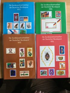 Federal Republic - 1973 - 2000 - 28 year sets (year books) complete with Michel No. 1, inspected Schlegel BPP
