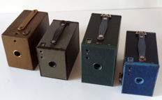 4 colour Brownie box cameras