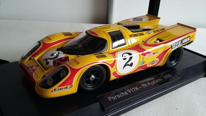 Norev - Scale 1/18 - Porsche 917K 9Hours Kyalami South Africa 1970 #2 Siffert / Ahrens