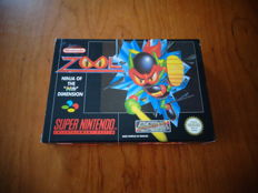 "Super Nintendo ""Zool"" Rare FAH Version, Fully complete and in very good condition"