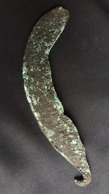 Late Bronze Age Sickle - 190 mm