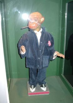 Electric automaton - Smoking monkey - 20th century