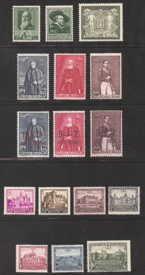 Belgium 1930 - Complete volume 1930, without BL1, but with stamp from block - OBP 299/314
