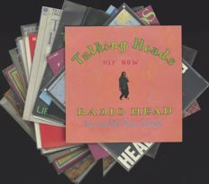 Hey Now / Radiohead: A more than perfect lot of 17 vinyl singles by Talking Heads - Many rare ones included