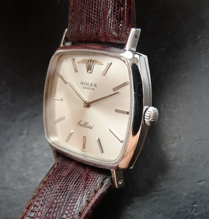 Rolex Cellini white gold 18 kt / 750 ref. 3805 , vintage men\u0027s watch , 1980  , Catawiki