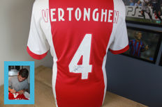 Jan Vertonghen signed Ajax shirt - in deluxe packaging + official certificate of authenticity with picture proof